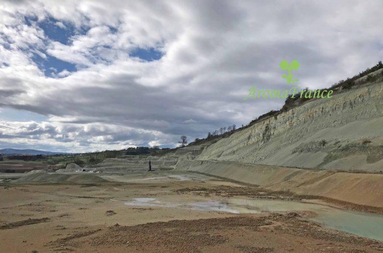 フランス研修 クレイプロフ クレイ鉱山